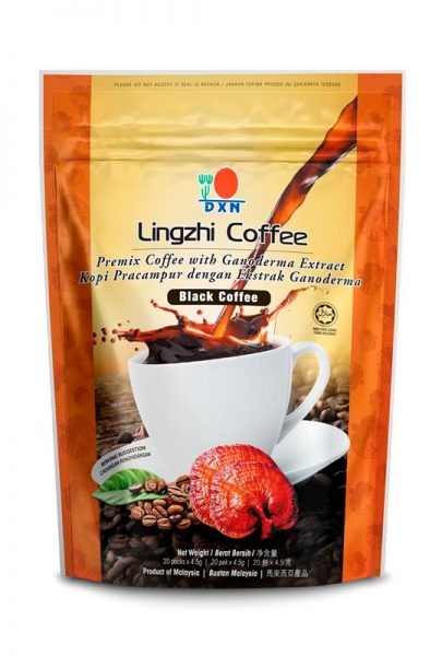 Café lingzhi Black